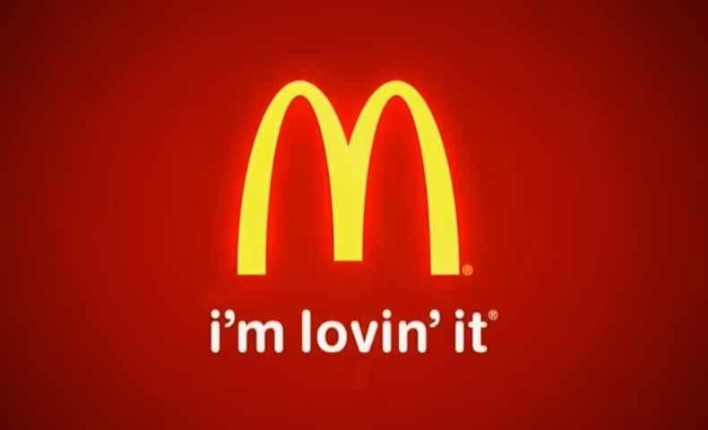 『 i'm lovin' it 』- マクドナルド